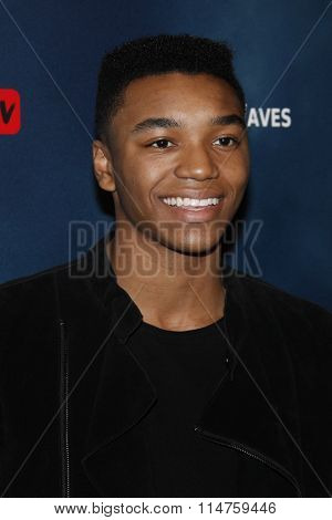 vLOS ANGELES - JAN 14:  Josh Levi at the The 5th Wave Los Angeles Premiere at the Pacific Theatres At The Grove on January 14, 2016 in Los Angeles, CA
