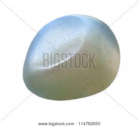 Moonstone (adularia, Adular) Gemstone Isolated