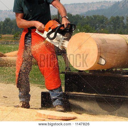 Lumberjack Contestant