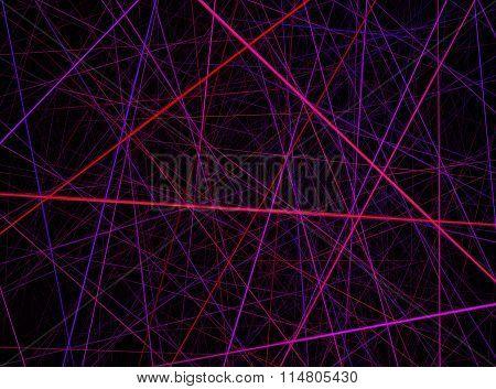 Red Pink Violet Laser Background