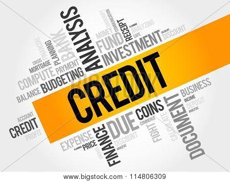 Credit Word Cloud
