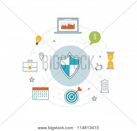 Data protection, safe work. Investment security.