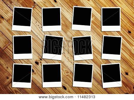 Twelve Blank Photos