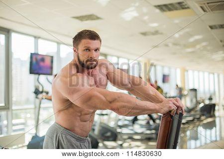 Muscular man.