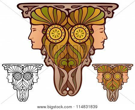 Fantasy Page Ornament