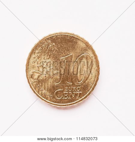 10 Cent Coin Vintage