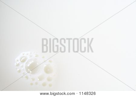 Milk With Bubbles