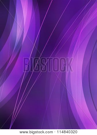 Violet Blur Background Vertical Format A4 Page