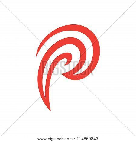 Abstract Letter P Logo Template. Letter P Logo For Business, Consulting, Finance, Agency, And Others