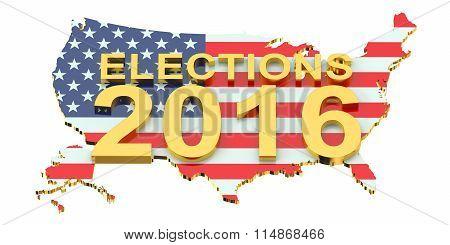 Election 2016 Usa Concept