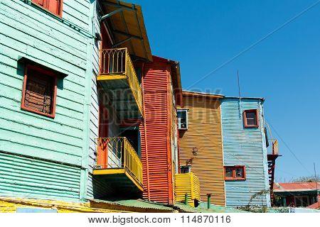 La Boca, Colorful Neighborhood, Buenos Aires Argentine
