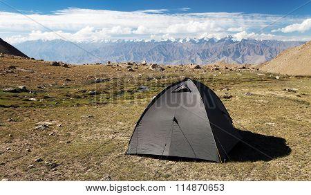 Tent In Himalayan Mountains, Stok Range