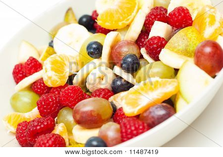 Freshly Made Fruit Salad