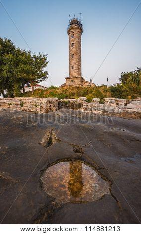 Lighthouse In Savudrija, Istria, Croatia
