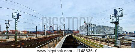 Railway in Berlin, Germany