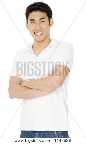 Man In White Shirt