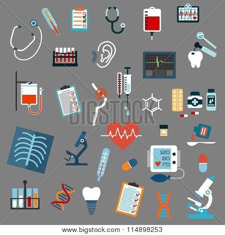 Medical diagnostics, testing and equipment
