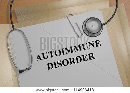 Autoimmune Disorder Concept