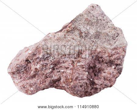 Specimen Of Tuff (ash-tuff) Mineral Stone
