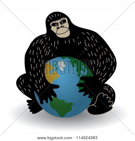 Gorilla and world crisis ecology or policy