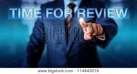 Hr Manager Pressing Time For Review