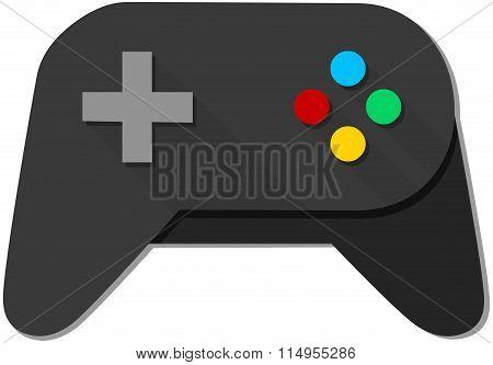 Game Console Black Joystick