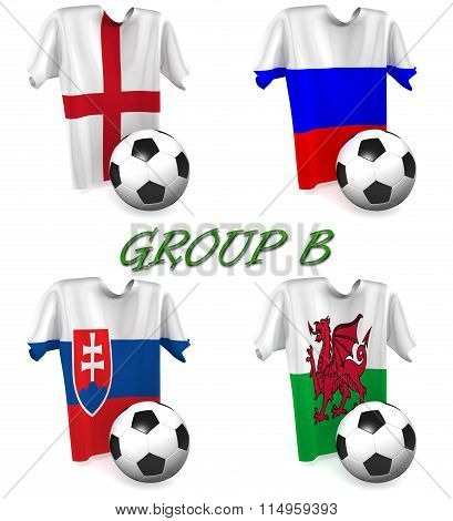 Group B European Football 2016