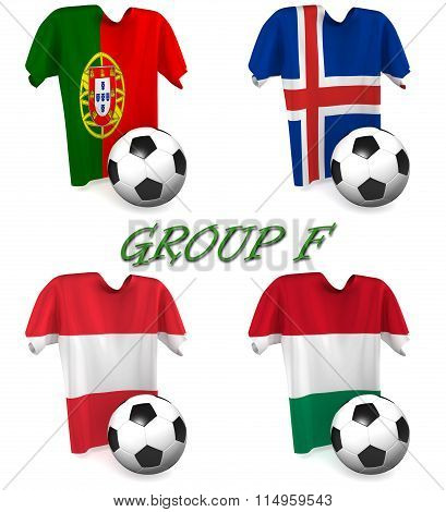 Group F European Football 2016