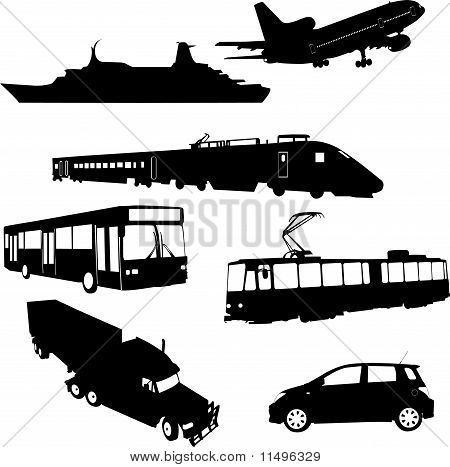 Transport Collection vector