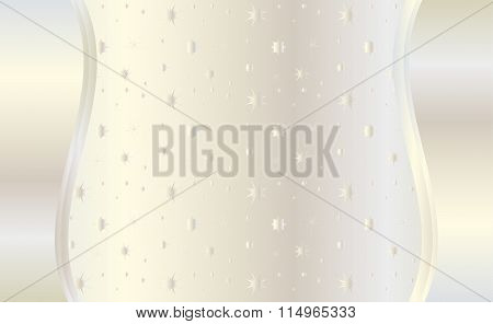 Invitation to the wedding day background Vector