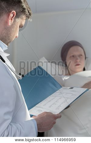 Examination Of A Patient