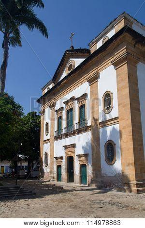 Igreja Matriz de Nossa Senhora dos Remedios - Paraty, Rio de Janeiro, Brazil