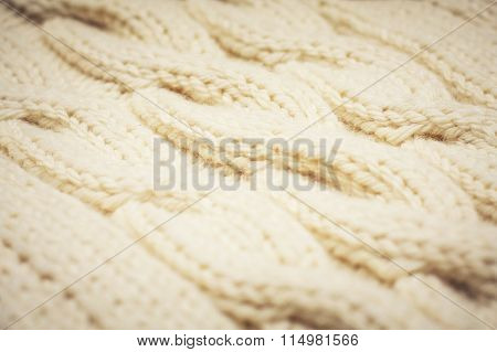 Yarn Texture Photo
