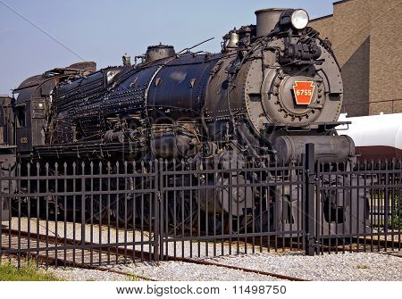 Old Railroad Engine