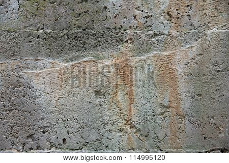 Concrete Mineral Leaching
