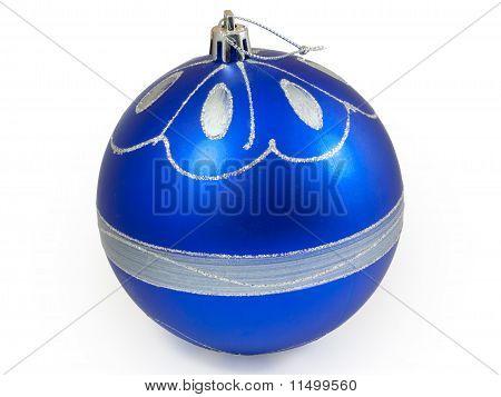 Big Blue Christmas Ball