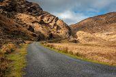 Beautiful scenic route through the Ballaghbeama Gap poster