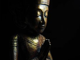 Low key golden buddha no.2