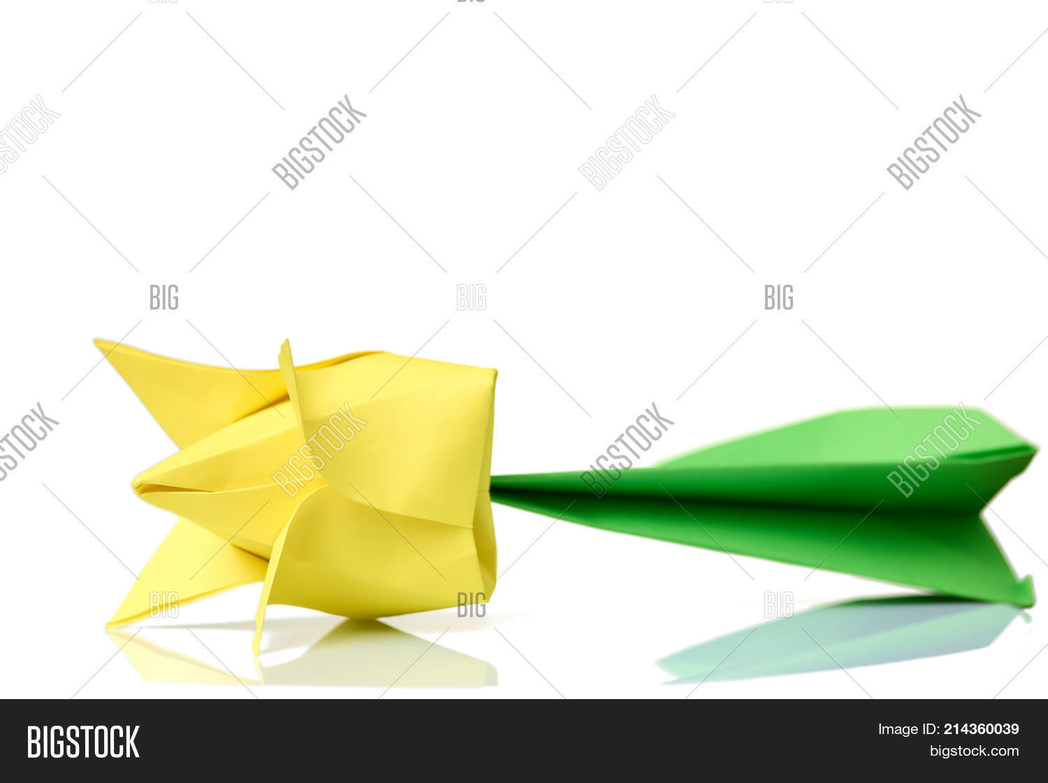 How to Make an Origami Tulip Flower & Stem   1120x1500