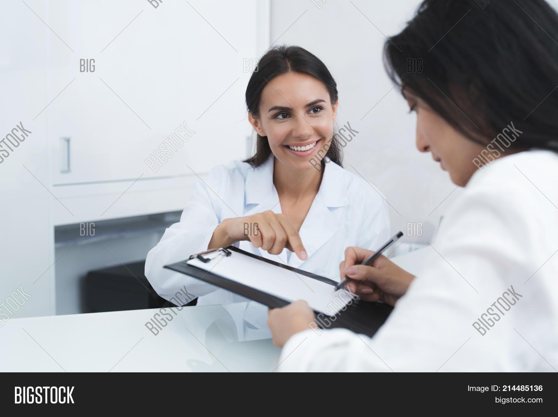 Secretary Medical Image & Photo (Free Trial)   Bigstock