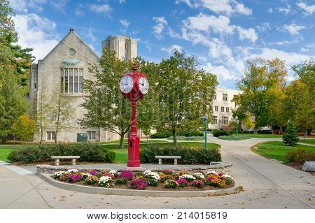 Indiana University Landmark Campus Clock