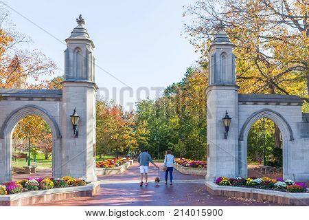 Sample Gates At University Of Indiana