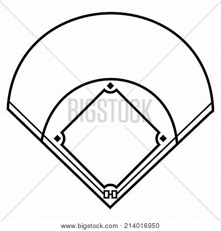 Baseball Field. A baseball field, also called a ball field or a baseball diamond, is the field upon which the game of baseball is played.
