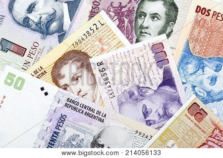 Argentinian money - Pesos, a business background