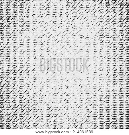 Distress, Dirt Texture. Vector Illustration. Grunge Background. Pattern With Cracks.