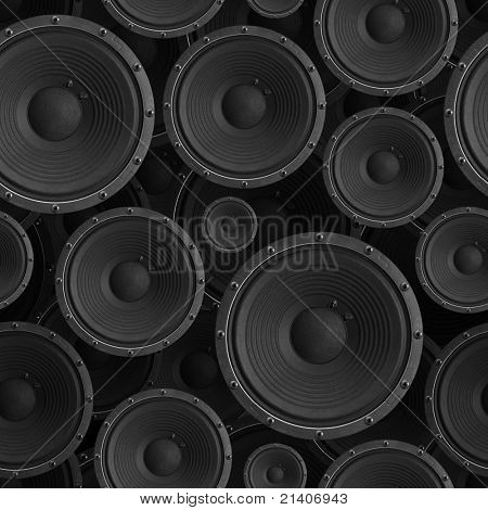 Speakers seamless background - texture pattern for continuous replicate.