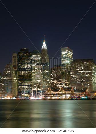 Portrait New York City Skyline