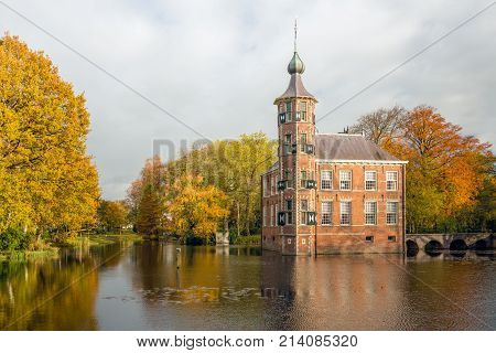 The Bouvigne castle in the Dutch city of Breda dates from the 15th century.