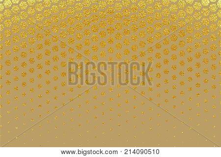Abstract Geometric Pattern. Hexagonal Pattern. Vector Illustration.