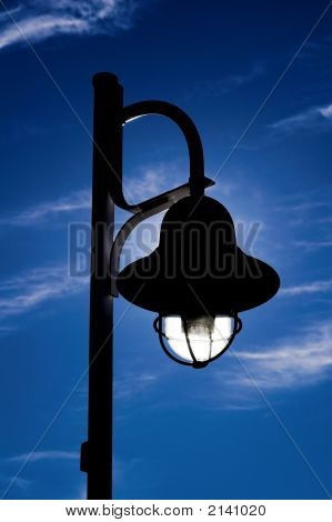 Solar Powered Street Lamp